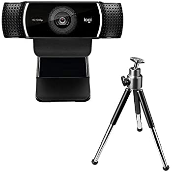 Logitech C922 Pro Stream Webcam 1080P Camera for HD Video Streaming & Recording at 60Fps