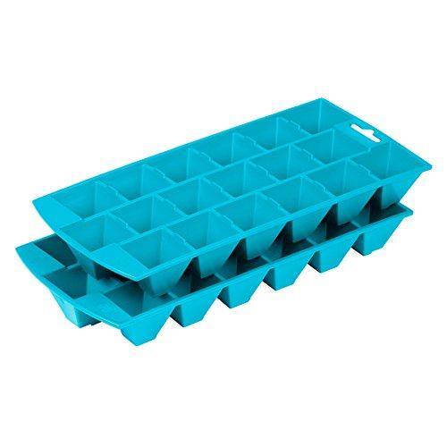 Ottobre 30970601000 macchina del ghiaccio in Duo Pack, Capri / blu