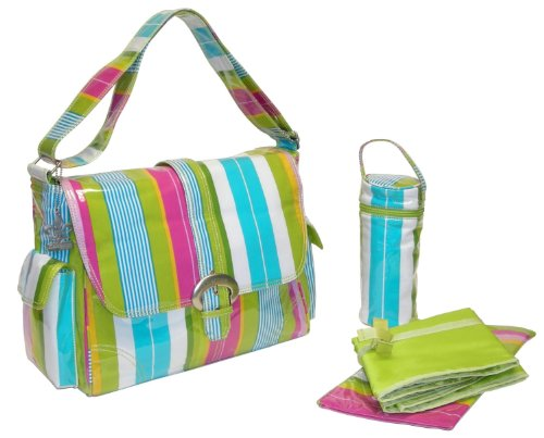 kalencom-fashion-diaper-bag-changing-bag-nappy-bag-mommy-bag-laminated-buckle-bag-paradise-stripes-a