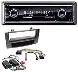 Blaupunkt Brisbane 270 BT AUX MP3 SD Bluetooth USB Autoradio für Audi A4 B6 B7 00-08 Symphony Bose Aktivsystem Mini-ISO