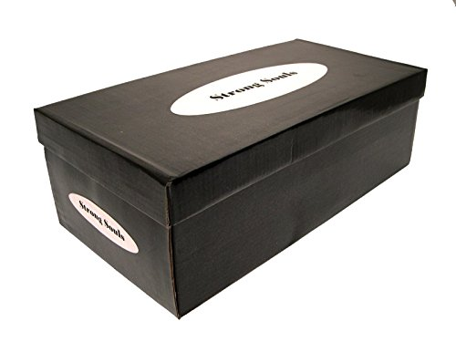 Baskets à Velcro - cuir synthétique - garçon - noir Noir