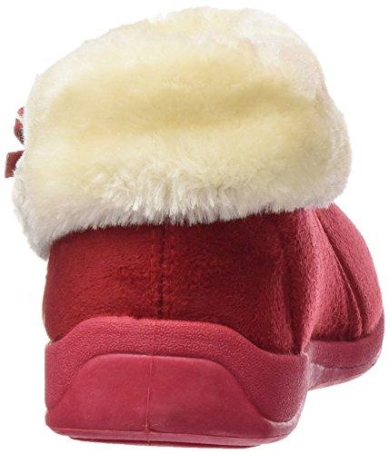Dunlop , Damen Hausschuhe Winter rot