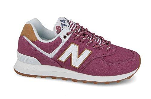 New Balance WL574, Zapatillas de Deporte para Mujer, Rosa (Rosa), 38 EU