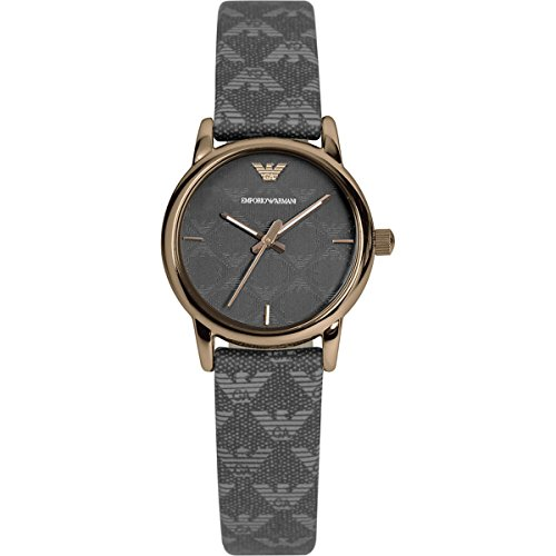 Emporio Armani - Reloj de cuarzo para mujer, correa de tela