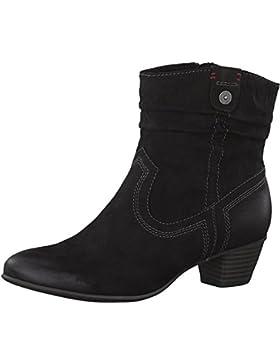 s.Oliver 5-5-25360-29 Modische Damen Stiefelette, Bootie, Stiefel, seitlicher Reißverschluss