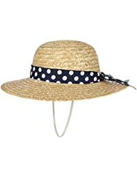 MaxiMo Cappello di Paglia Dotted Band Bambino Cappelli Spiaggia Estivo f95a3a458b2d
