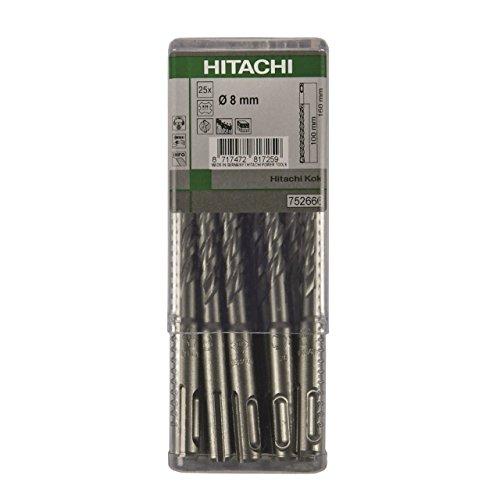Hitachi Profi 782681–Multipack 252Schneiden Bohrer SDS-Plus 10x 210mm Länge Util 150