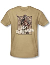 Star Trek - Mens To The Death T-Shirt In Sand