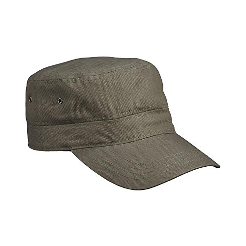 Myrtle Beach - Kinder Military Cap / olive, One Size (Militär Olive Hut)