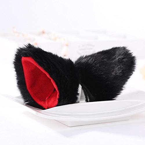 WanNing Cat Ears Hairpin Cosplay Anime Dance Fox Clip Ohrhaare - Cat Dance Kostüm