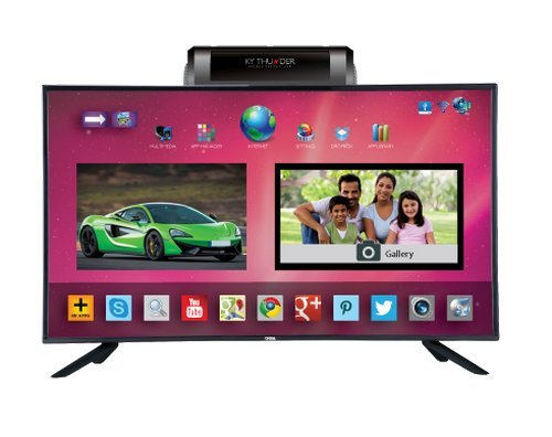 Onida 101.6 cm (40 inches) Thunder Series LEO40KYFAIN Full HD LED Android Smart TV (Black)