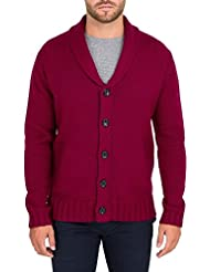 Wool Overs Cardigan Homme à col châle