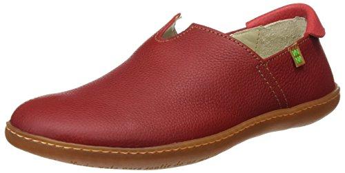 El Naturalista S.A N275 Soft Grain El Viajero, Unisex-Erwachsene Sneakers, Rot (Tibet...