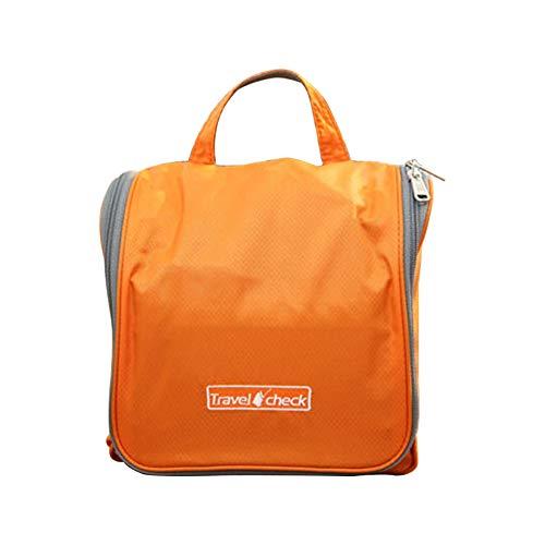 Oyfel tragbar Aufhängen Reisen Kulturtaschen mit Haken Cosmetics Make up Shaving Wasserdicht Wash Bag Dual Schicht für Reisen groß Kapazität 23cm*21.5cm*7.5cm