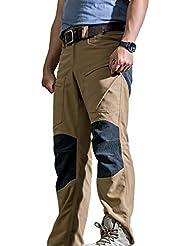 gratuit Soldat d'extérieur pour homme en Cordura Tissu Kevlar en Teflon étanche tout terrain Pantalon