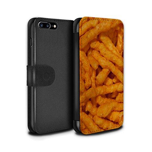 Stuff4 Coque/Etui/Housse Cuir PU Case/Cover pour Apple iPhone 7 Plus / Noix de cajou Design / Casse-Croûte Collection Nick Nacks