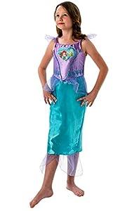 Rubies Disfraz infantil Loveheart de la Sirenita Ariel, para niñas, talla XL, edad 9-10 años