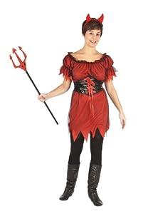 Humatt Perkins 51392 - Disfraz de diablesa para mujer