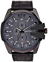 Reloj hombre Louis Villiers acero negro 50 mm lvag8912 – 7