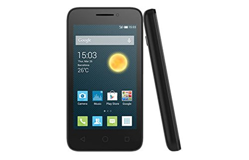 Acatel OneTouch Pixi 3 3.5' Android Smart Phone 4009X -Nero