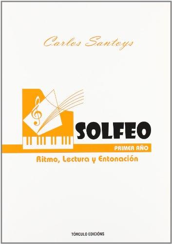 Solfeo primer año por Carlos Santoys