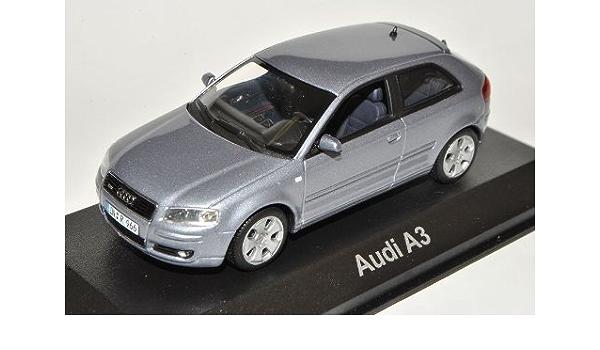 Minichamps A U D I A3 8p Silber Grau 3 Türer 2003 2013 1 43 Modell Auto Spielzeug