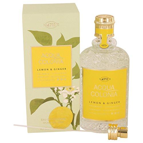 4711 Acqua Colonia Lemon & Ginger Eau De Cologne Spray (Unisex) By Maurer & Wirtz -