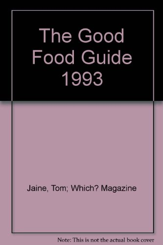 The Good Food Guide 1993