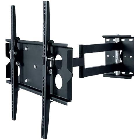 Allcam L273M - Soporte de pared para TV (girable e inclinable), negro