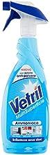 Vetril - amoniaco, detergente para lunas y multiuoso sin muebles- 650ml