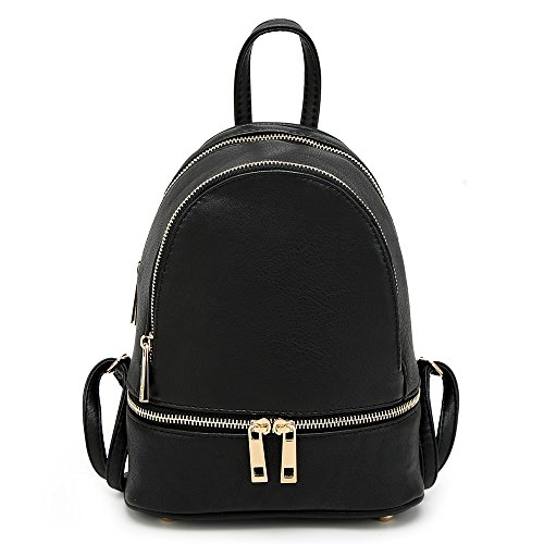 Craze London, Borsa a zainetto donna Small Black