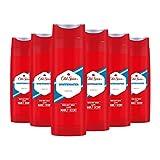 Old Spice Whitewater Duschgel, für Männer, 6er Pack (6x400 ml)