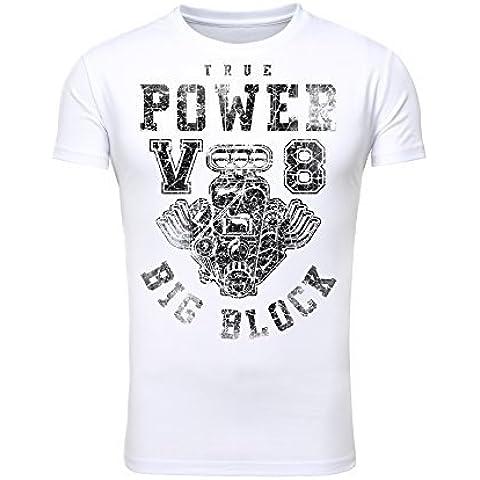 Legendary Items Herren T-Shirts Girocollo - 350 Stroker
