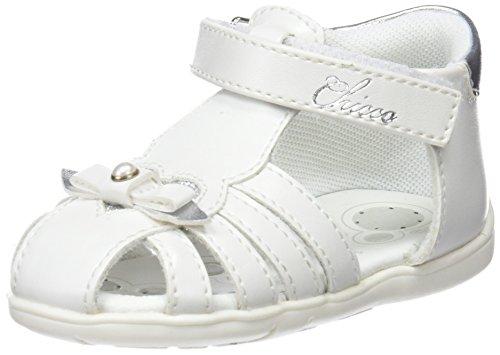 Chicco Gatella, Sandalias para Niñas, Blanco (Bianco-300 300), 20 EU
