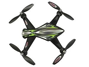 Jamara 422011 - F1X Quadrocopter Altitud WiFi de la cámara FPV AHP Plus, Negro