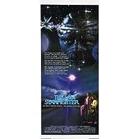 The Last Starfighter Poster Movie Insert 14 x 36 In - 36cm x 92cm Lance Guest Robert Preston Barbara Bosson Dan O'Herlihy Catherine Mary Stewart Cameron Dye