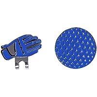 TOOGOO(R) Lustiger Handschuh & Golfball Design Hat Clip mit Magnetischem Ballmarker Golf Cap Clip, Geschenkidee