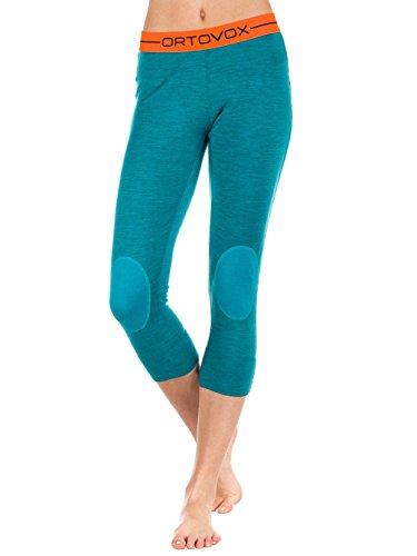Blend Damen Hose (Ortovox Merino 185Rock 'n 'Wool Short Pants W Thermo Hose, Damen M blau (Aqua Blend))