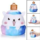 TAOtTAO 12cm Squishy Pinecone Bär Creme duftenden langsam steigenden Stressabbau Squeeze Spielzeug