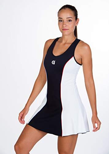 a40grados Sport& Style, Vesso Kleid, Damen, Tennis und Paddle, VESSO, 36 XS