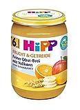 Hipp Frucht & Getreide ab 6.Monat, Feiner Obst-Brei mit Vollkorn, DE-ÖKO-037, Art.Nr. 4800-01 - VE 190g