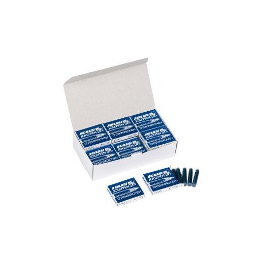 Jolly 7300-0035 Jollypen Tintenpatronen Nachfüll-Großpackung, königsblau (144er Pack)