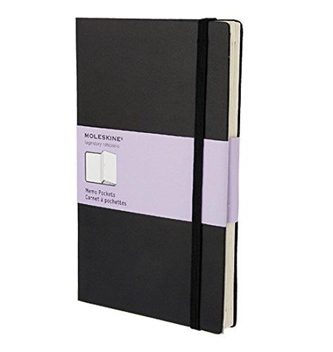 Preisvergleich Produktbild Moleskine Organizer Notizbücher / Fächerbuch / Large / Fester Einband / Schwarz