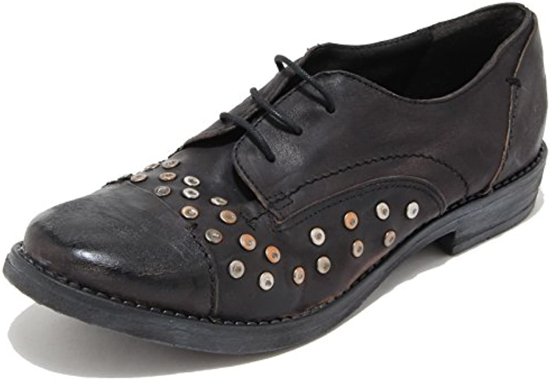 9380I OTO scarpa allaccia donna shoes women nero black