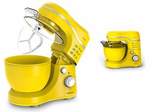 Botti 6M1092 Robot da Cucina Multifunzione Impatrice Pianetaria Mixer Rosso
