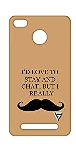 Vogueshell I Don't Love Printed Symmetry PRO Series Hard Back Case for Xiaomi Redmi 3S Prime