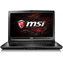"MSI GL72 7RD-271ES - Portátil de 17.3"" FullHD (Intel Core i7-7700HQ, RAM de 8 GB, 1 TB HDD, SSD de 256 GB, Nvidia Geforce GTX 1050 2 GB, Windows 10, teclado Steelseries) negro"