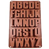 Zeepprofis 26 letters -Extra Stabiele silicone vorm zeepvorm bakvorm chocoladevorm 34 * 22,5 * 2,5 cm