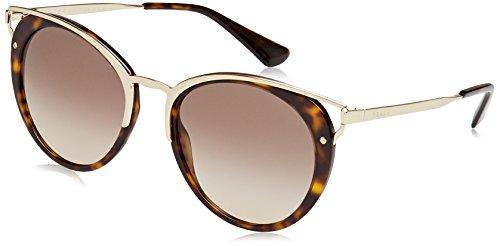 Prada Damen 0PR66TS 2AU3D0 54 Sonnenbrille, Braun (Havana/Brown),