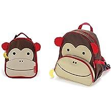 De saltar Hop Zoo juego de Y de la de almuerzo de la bolsa para la compra con forma de mono de